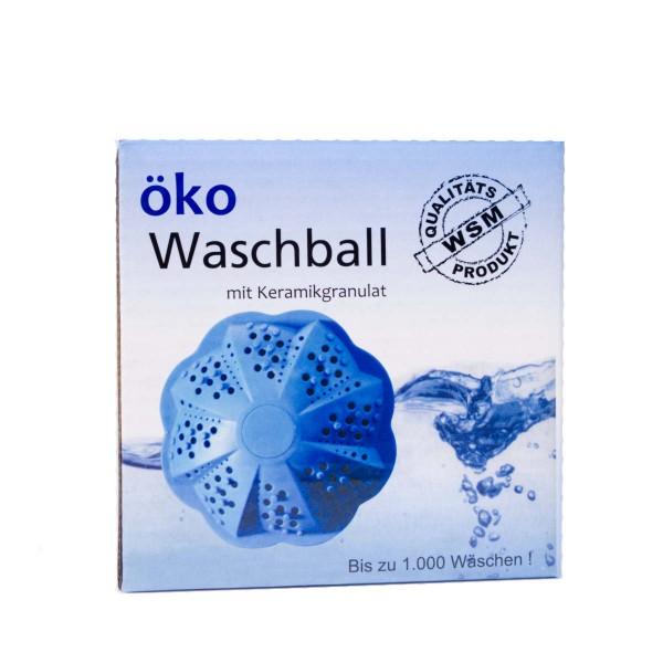 öko Waschball für die Waschmaschine - reinigen ohne Chemie - mit Keramikgranulat